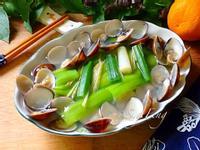 清蒸蛤蠣絲瓜