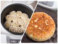 【麥典】電子鍋麵包三部曲-培根乳酪捲