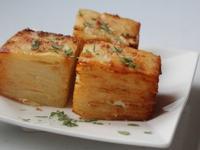 馬鈴薯千層方塊 Potato Pavé