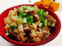 牛排蒜香炒飯