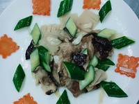 炒梳片鮮筍