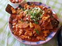 韓式蔬菜辣燉魚
