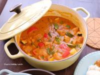 花生醬燉雞-鑄鐵鍋料理燉炒一鍋到底
