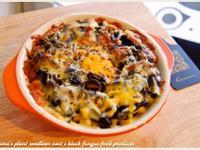 黑木耳醬油焗烤玉米飯.柯媽媽の植物燕窩