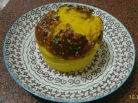 南瓜牛奶戚風蛋糕