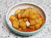 (韓式)蘿蔔泡菜 깍두기