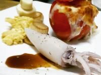 法式鮮甜小卷佐蕃茄燉飯