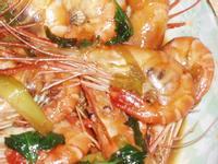 ㄚ曼達的廚房~三杯泰國蝦