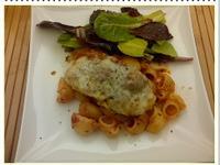 帕馬森起士雞肉---- chicken parmesan