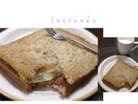 全麥鮪魚玉米蛋土司