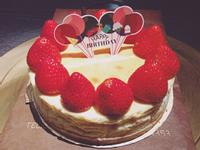 草莓重乳酪蛋糕