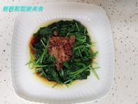肉燥拌地瓜葉