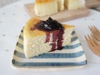 「噗啾~」的舒芙蕾乳酪蛋糕(輕乳酪蛋糕)