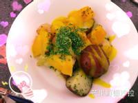 芒果鮮蝦熱沙拉