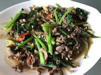 芥蘭炒牛肉(超下飯的必備菜)