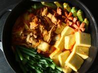 韓式泡菜豬肉豆腐鍋