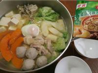 [康寶濃湯] 雞肉蔬菜火鍋麵