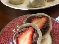 日本學回來的草莓大福