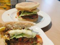 鷹嘴豆泥漢堡排🌱全素