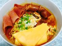 韓式泡菜芝士湯麵