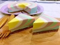 彩虹乳酪蛋糕