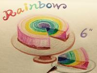 彩虹乳酪蛋糕(免烤)