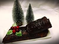 聖誕樹幹蛋糕