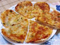 餃皮薄片披薩