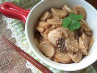 薑絲麻油乾煸杏鮑菇(素食可吃)
