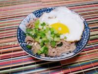 日式蔥燒豬肉片丼飯
