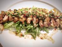 [大盤菜] 不用炸的泰式酸辣雞