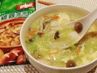 香菇雞蔬菜年糕濃湯