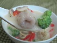 洋蔥魚餃巧達湯
