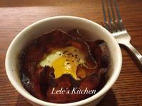 【元氣早餐】培根蛋吐司杯