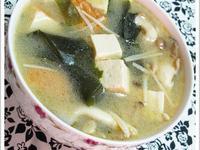 野菇味噌湯