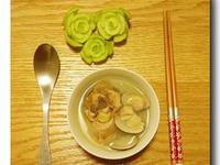 大蒜蛤蜊雞湯