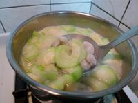 絲瓜魚餃湯
