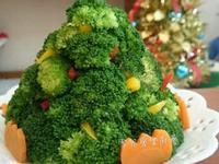 綠花椰聖誕樹