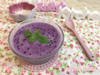 紫薯椰汁燕麥西米露