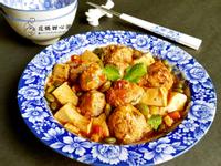 肉丸子燴豆腐