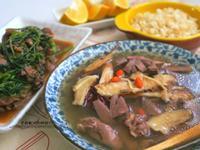 阿灶伯羊肉飯+當歸下水湯