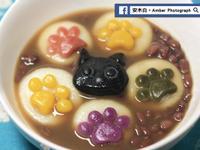 貓掌湯圓紅豆湯