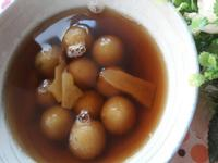 冬至圓吃湯圓 ~ 黑糖薑香烤蕃薯圓子