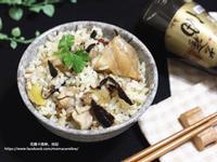 香菇麻油雞飯【福壽純芝麻油玩料理】