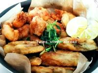 酥殼炸牡蠣+台式經典鹽酥雞