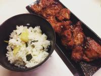 上海排骨菜飯