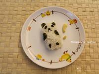 【可愛料理】大驚小熊貓飯糰