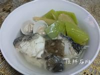 芥菜龍膽石斑魚湯(刈菜過魚湯)