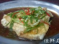 清蒸石斑魚(新品種-珍珠龍膽/龍虎斑)