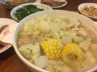 雞肉蔬菜火鍋《只加鹽 好清甜》